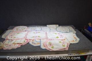 Vintage Linens, Dollies & More